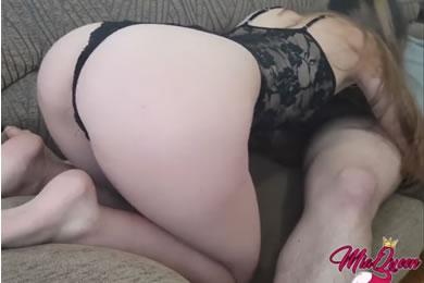 Anális amatőr szex
